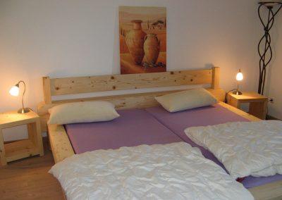 Schlafzimmer Fewo Zum Bauerngarten