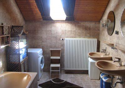 Badezimmer Fewo Bauernhof