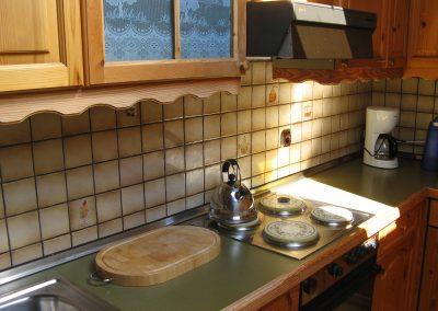 Küche Fewo Bauernhof