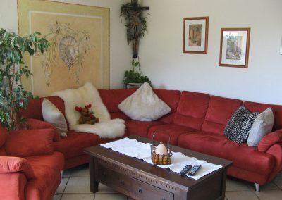Wohnzimmer Fewo Romantica