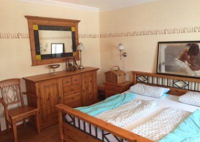 Schlafzimmer Fewo Romantica