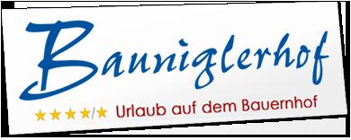 Logo Bauniglerhof mit Link zur Startseite