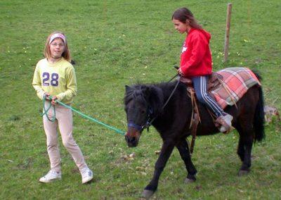 Ponyreiten auf dem Bauniglerhof