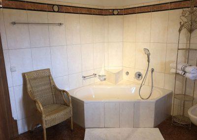 Badezimmer in unserer Ferienwohnung Romantica 2